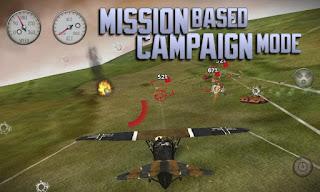 Merupakan sebuah game pesawat dengan set dan latar belakang perang dunia  Unduh Game Android Gratis Sky Gambler Rise of Glory apk