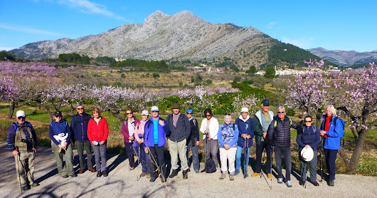 9 February 2017 – Almond Blossom Walk