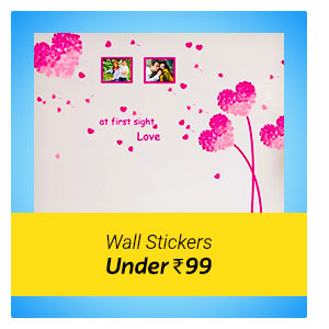 Wall Sticker under Rs. 99 only