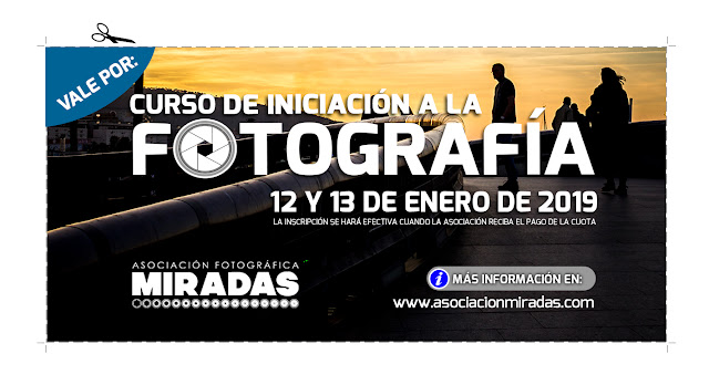 Curso de Iniciación a la Fotografía, con Carlos Larios - VALE