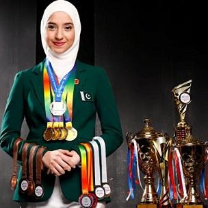 Pakistan's Emma Alam wins World Memory Championship 2020.