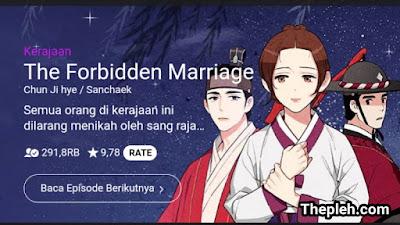 The Forbidden Marriage Webtoon