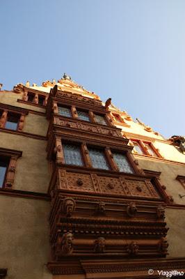Maison des Tetes una delle più fotografate di Colmar