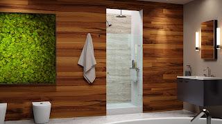 Glass shower doors advantages
