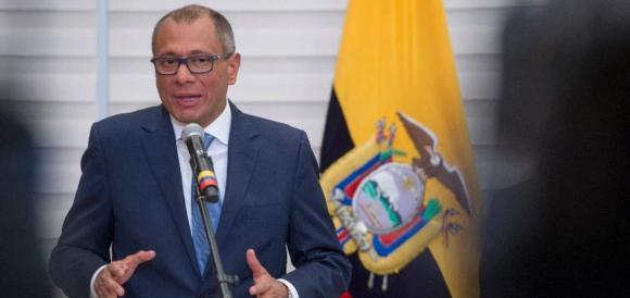 Vicepresidente Glas emplaza al banquero Guillermo Lasso a debatir sobre diversos temas y origen de sus patrimonios