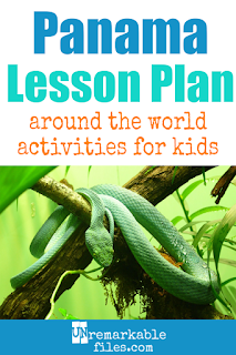 Building the perfect Panama lesson plan for your students? Are you doing an around-the-world unit in your K-12 social studies classroom? Try these free and fun Panama activities, crafts, books, and free printables for teachers and educators! #panama #canal #students #lessonplan