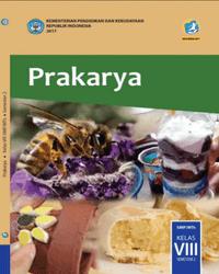 Buku Prakarya Siswa Kelas 8 k13 2017 Semester 2