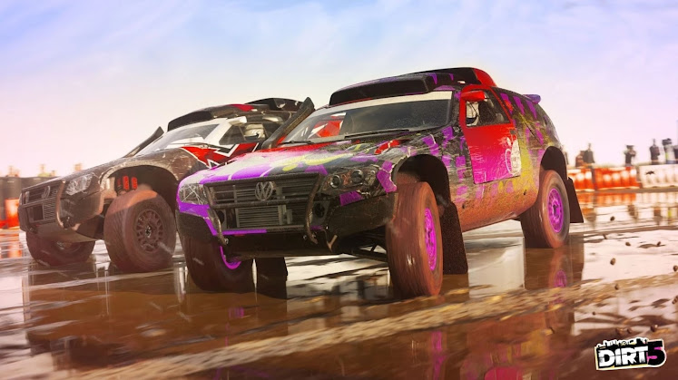 DiRT 5 Review: old school arcade video game