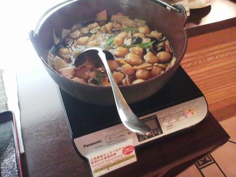 ビュッフェコーナー:つみれ煮 ホテルエミシア札幌カフェ・ドム