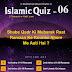 Islamic Quiz 6