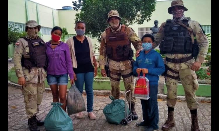 Cipe Central doa alimentos, roupas e calçados a instituições de caridade em Jequié