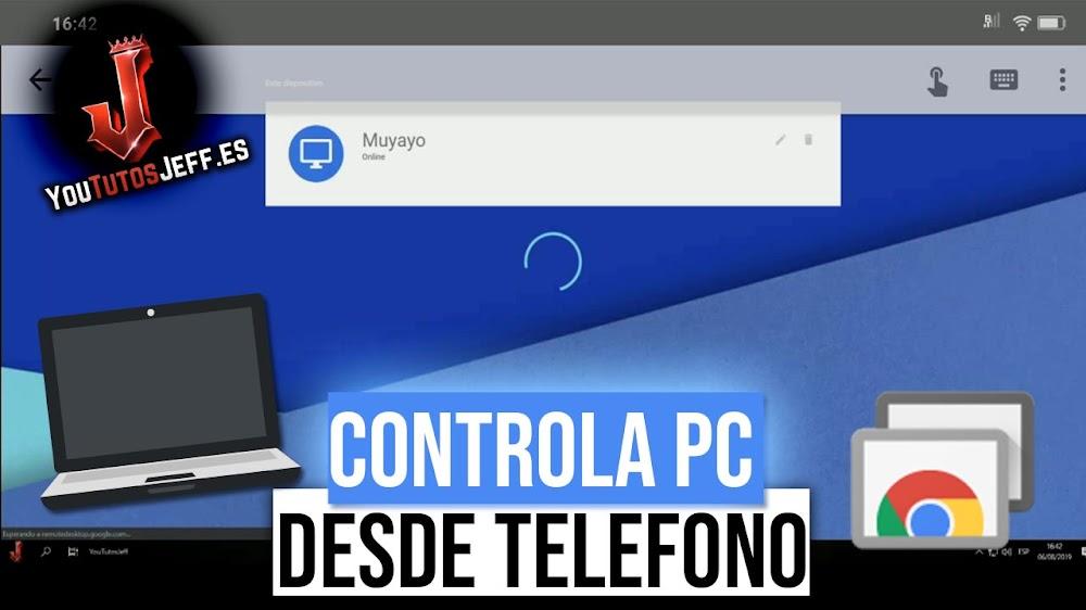 Controlar PC desde el Teléfono de Forma Simple y Rapida