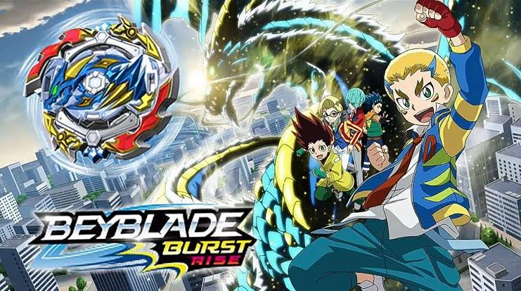 Beyblade Burst Rise Season 04 All Images In 720p
