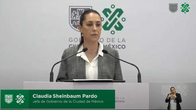 Sheinbaum acusa a directivos de GINgroup de financiar toma de la CNDH