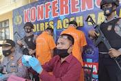 Polres Abdya Sikat Sindikat Jaringan Narkoba Antar Kabupaten