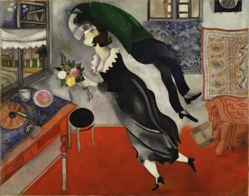Marc Chagall Anniversaire /Cumpleaños