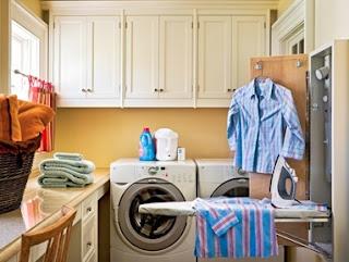 que debe tener un área de lavandería, diseños de cuartos de lavado de ropa