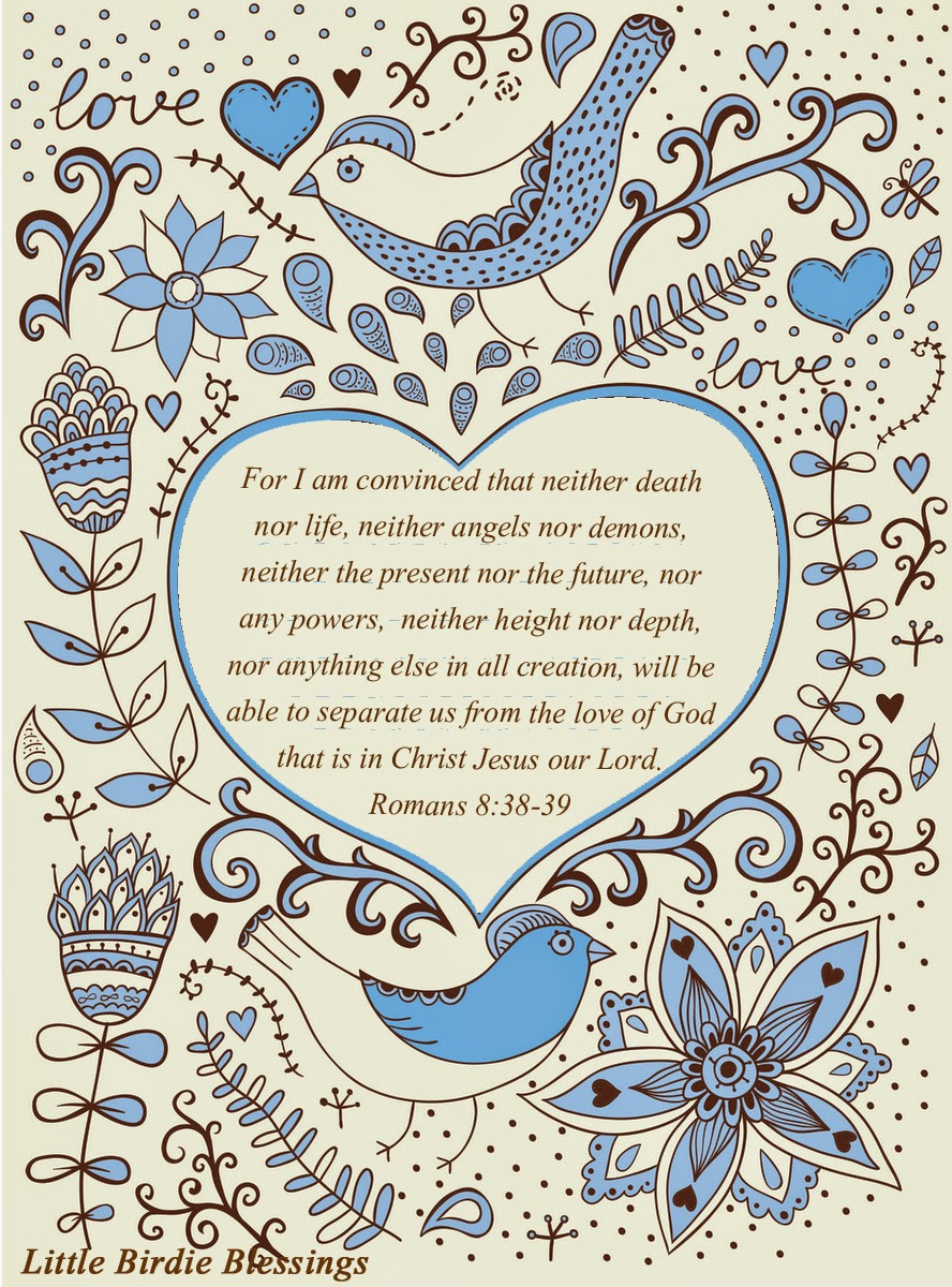 Little Birdie Blessings : God's Love Runs Deep