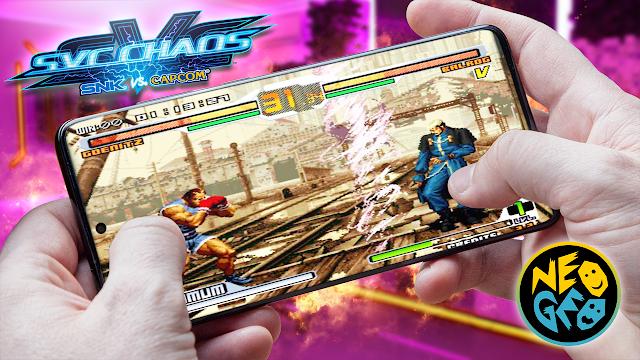SNK vs CAPCOM Super Plus Para Teléfonos Android (ROM NEOGEO)