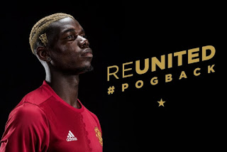 Paul Pogba Resmi Milik Manchester United