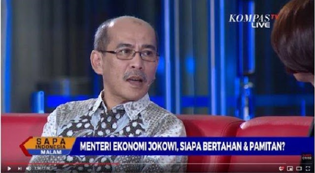 Sebut Menteri Jonan Tak Becus, Faisal Basri: Wakilnya Ini Pembisik Jokowi Bikin Kebijakan Ngaco