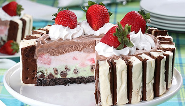 recipe for ice cream cake like dairy queen