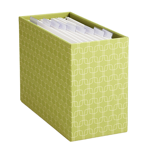 Desktop File Holder Makeover - The Simply Crafted Life
