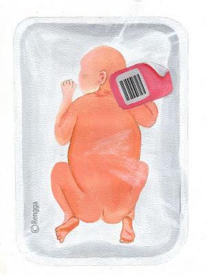 barcode man 3 karya perupa rengga gautama