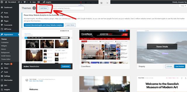 How to upload a theme in WordPress. Tech, Website, WordPress theme