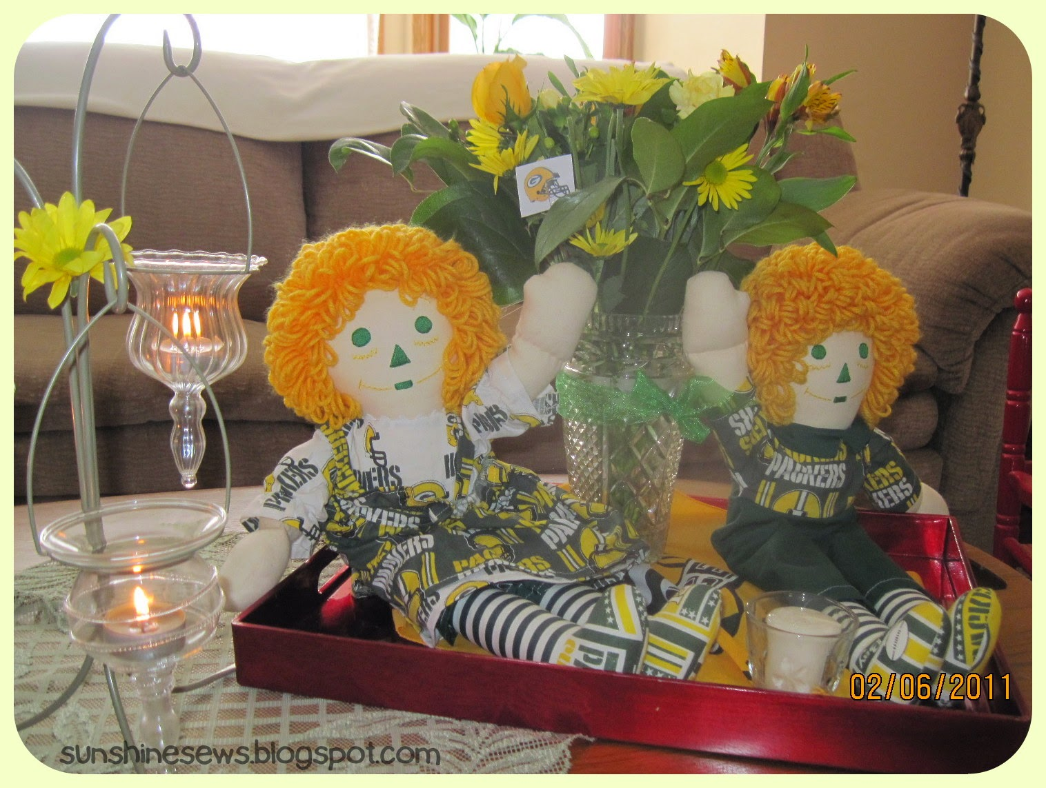 Green Bay Packer Dolls