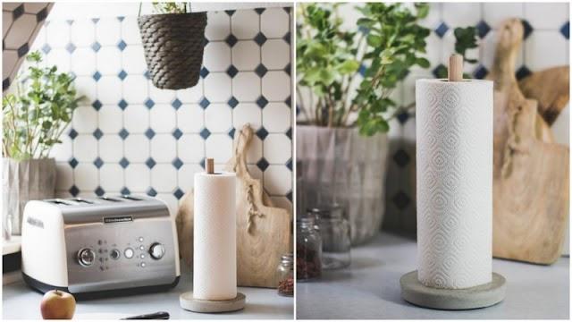DIY Βάση για χαρτί κουζίνας
