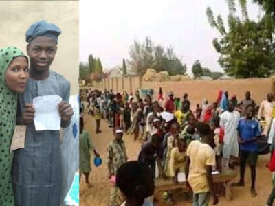 Two boys conducted election over a girl they both fall in love with in Bauchi. See the outcome