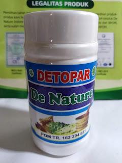 OBAT KAPSUL DETOPAR DE NATURE