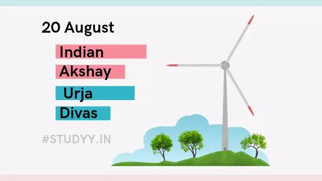 Indian Akshay Urja Day