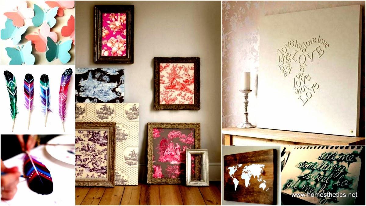 Ideas DiY- do it your self - para decorar tu casa