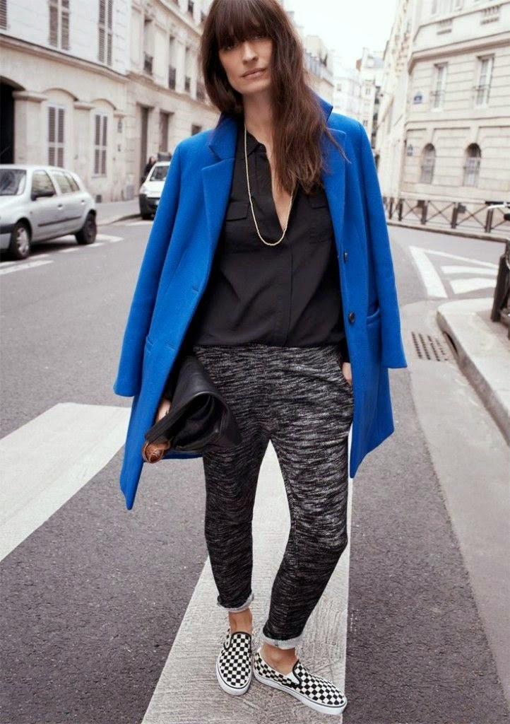 Parisienne: 14 WAYS TO WEAR CHECKERED VANS SLIP-ON SNEAKERS