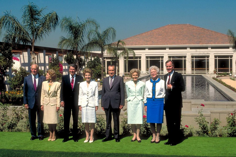 Armand S Rancho Del Cielo Renovated Nixon Library To Open