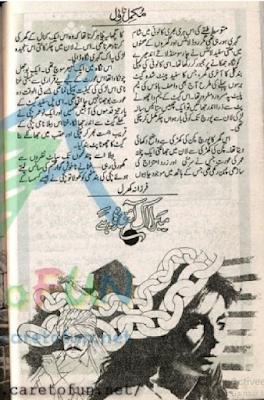 Mera aik ainda hai by Farzana Khral Online Reading