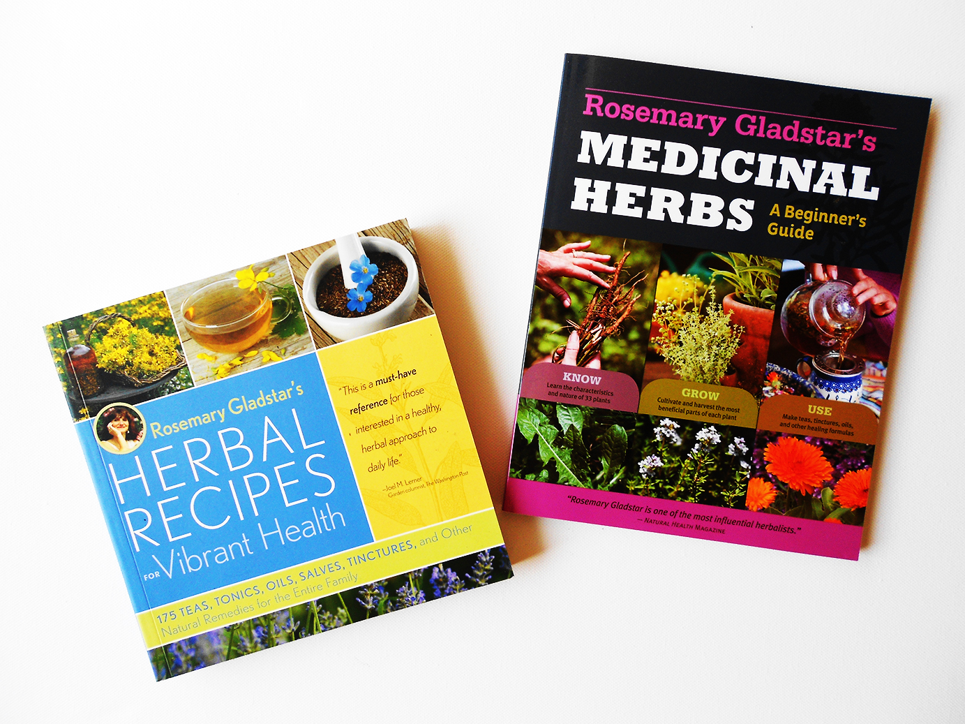 Medicinal Herbs A Beginner's Guide & Herbal Recipes for Vibrant Health by Rosemary Gladstar