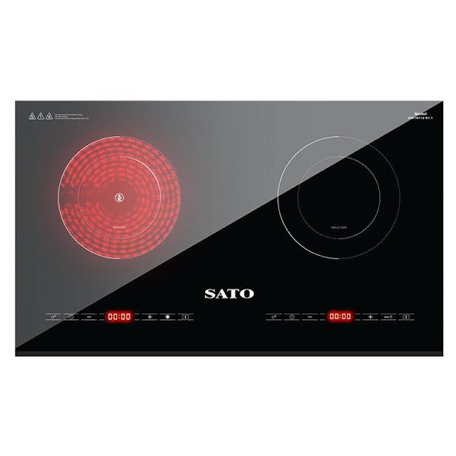 Bếp đôi điện từ hồng ngoại Sato SIH-IN711 N1.0