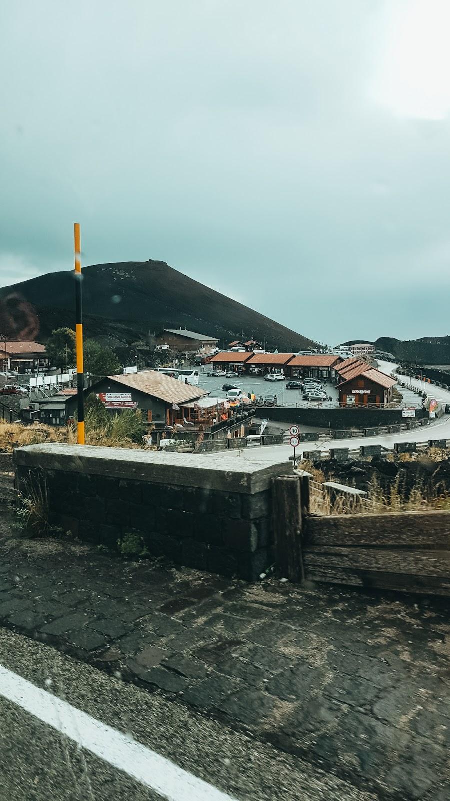 Nicolosi włochy, sycylia Etna