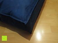 Beutel Ecke: Hygiene Steppbett 135x200cm Sanitized 100% Polyester Bettdecke Mikrofaser Weiß