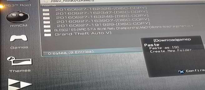 طريقة تحميل العاب ونقلها الي ps3 عن طريق فلاشة خارجية للاجهزة المهكرة