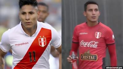 Raúl Ruidíaz y Alex Valera no jugarán ante Brasil, tras haber dado positivo a coronavirus