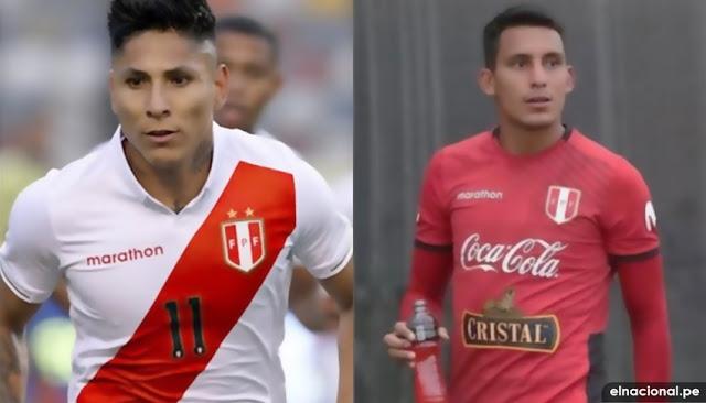 Raúl Ruidíaz y Alex Valera no jugarán ante Brasil