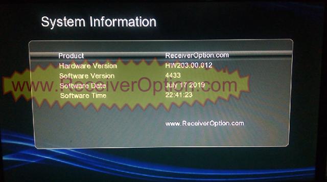 GX6605S HW203.00.012 TEN SPORTS & SERVER OPTION OK NEW SOFTWARE