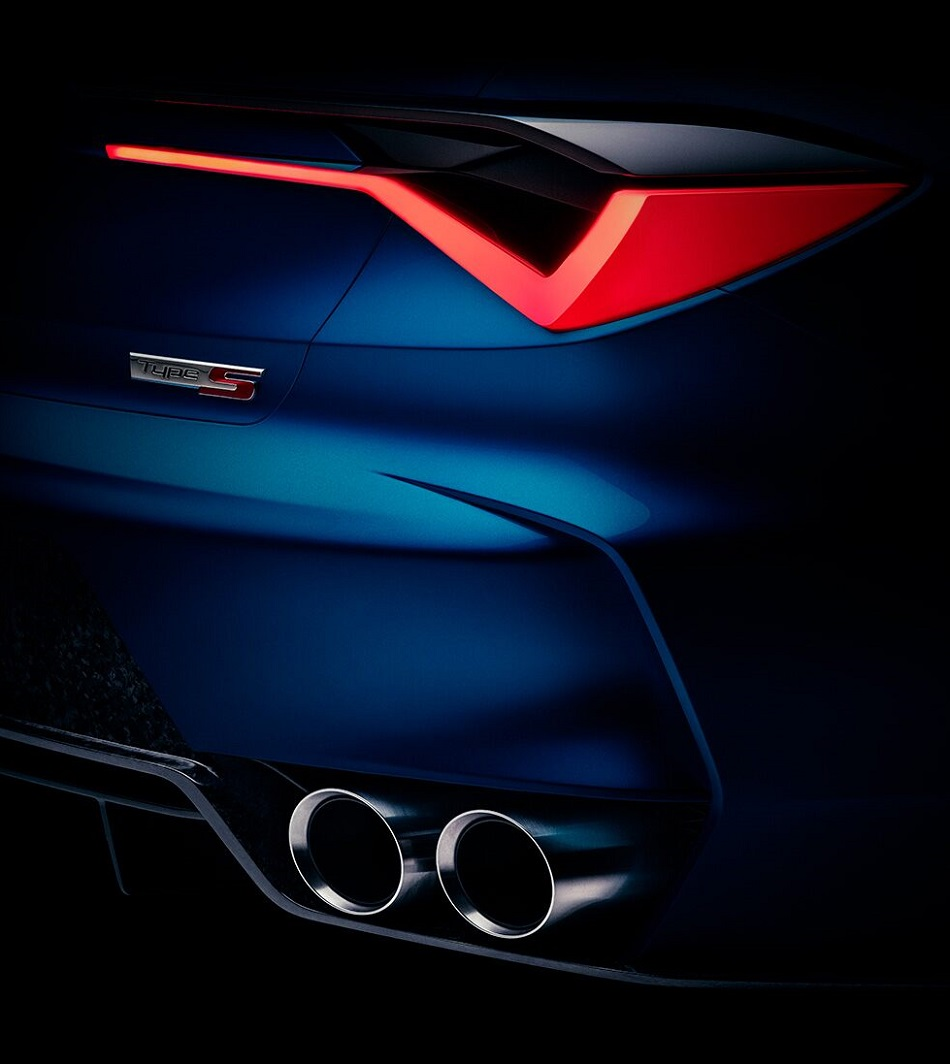 Acura Type S concept to debut at Monterey Car Week