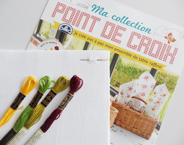 """Découverte : Magazine créatif """"Ma collection point de croix"""""""