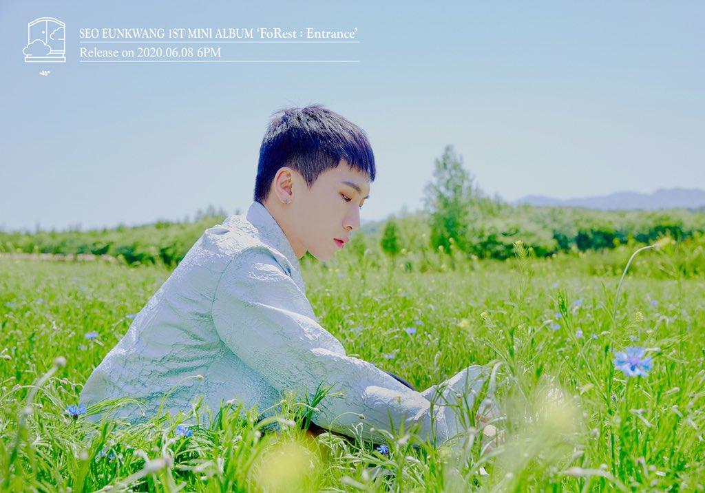 D-7, BTOB's Seo Eunkwang Release The Latest Teaser Photos for 'FoRest: Entrance'