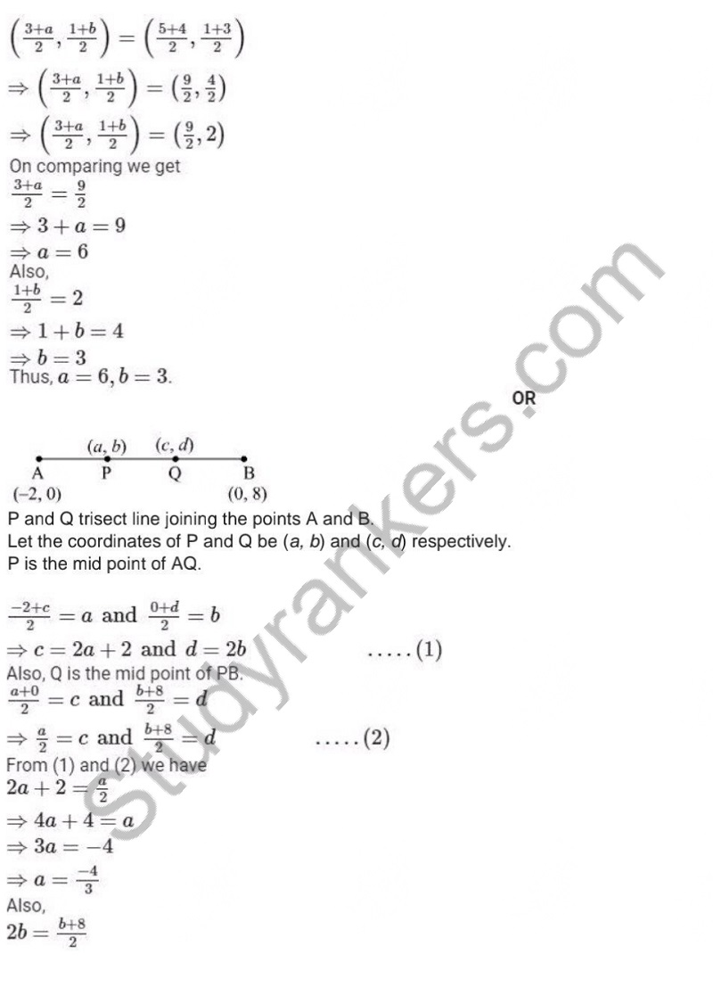 Previous Year Question Paper for CBSE Class 10 Maths 2019 Part 6
